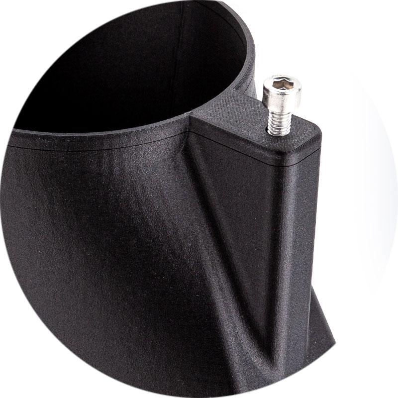 hochaufgelöstes Modell im 3D-Druck