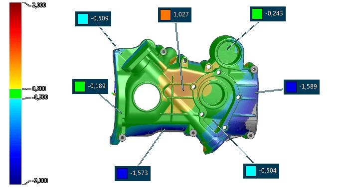 Soll-Ist-Vergleich gegen CAD-Daten