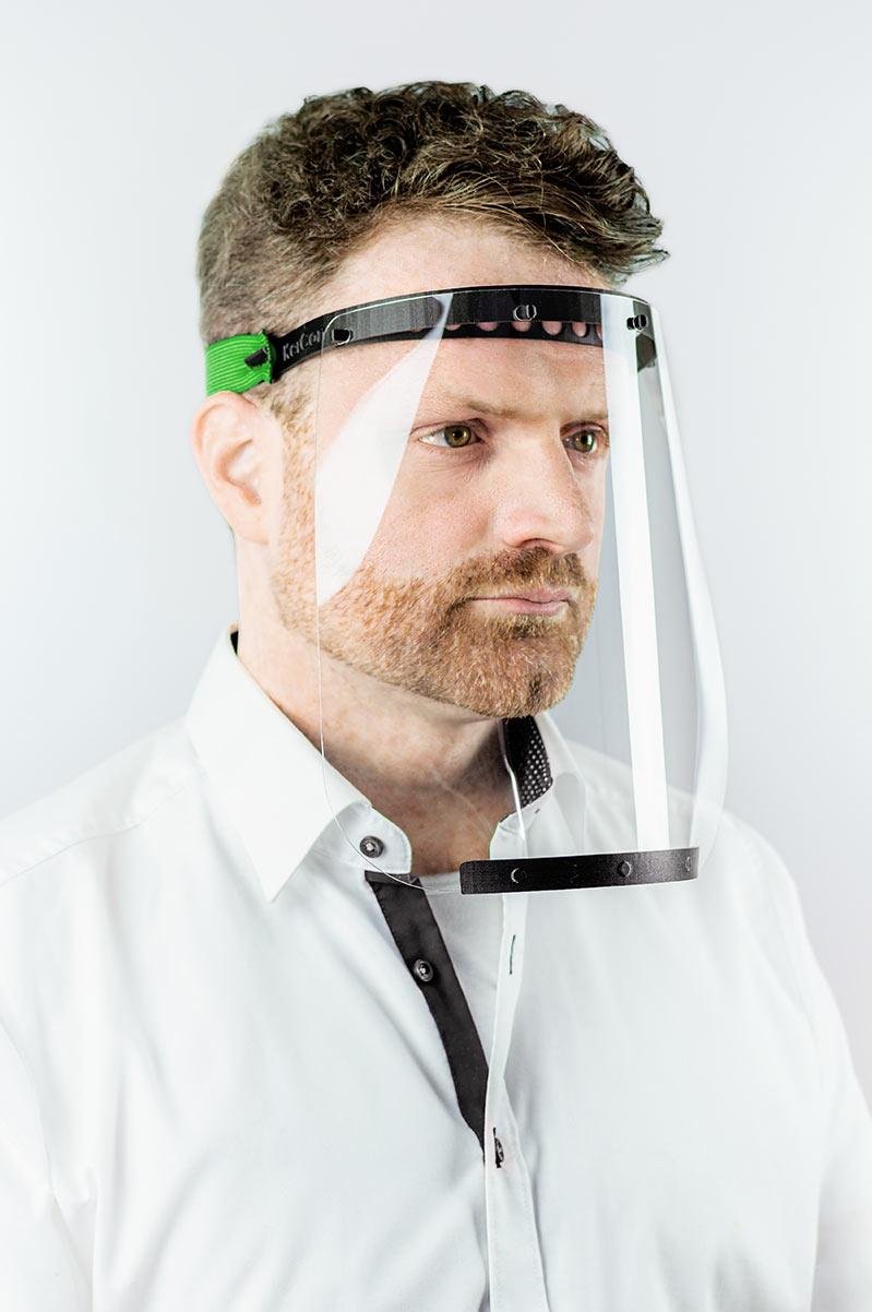 KerCon-Kopfbandvisier